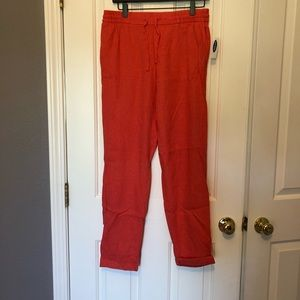 New Old Navy Cropped Linen Pants
